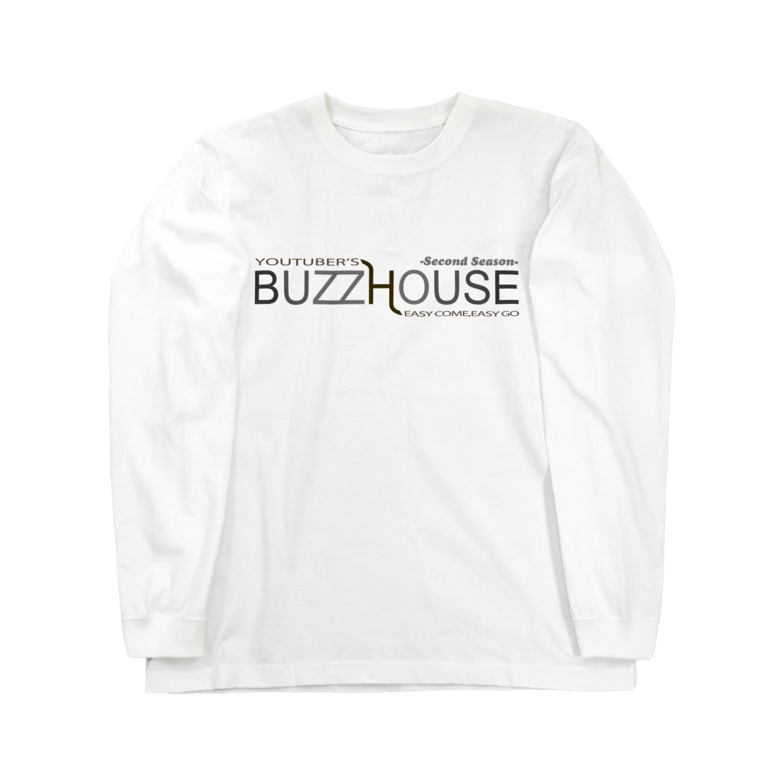 TOPSTAGEshopのBUZZ HOUSE 2nd Long sleeve T-shirts