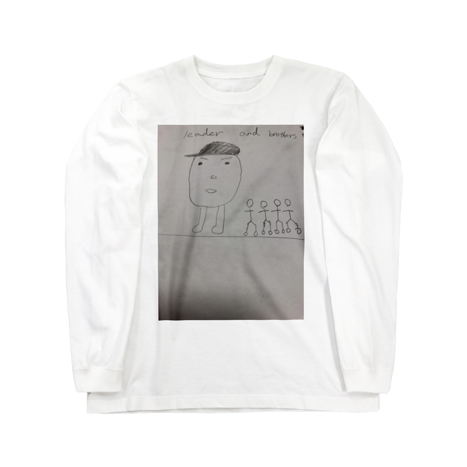 goodneckのleader and  brothers Long sleeve T-shirts