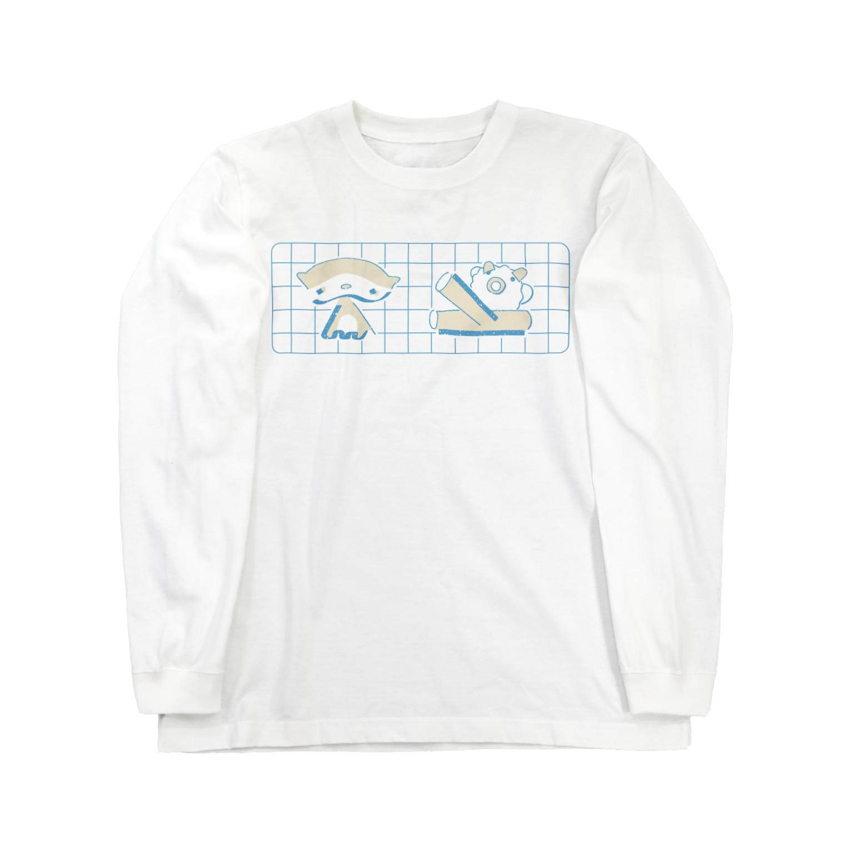 ヌトグランのいきものズ Long sleeve T-shirts