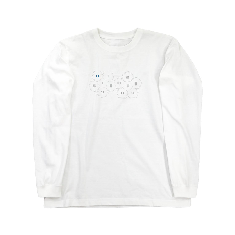 hirnの正十二面体 Long sleeve T-shirts