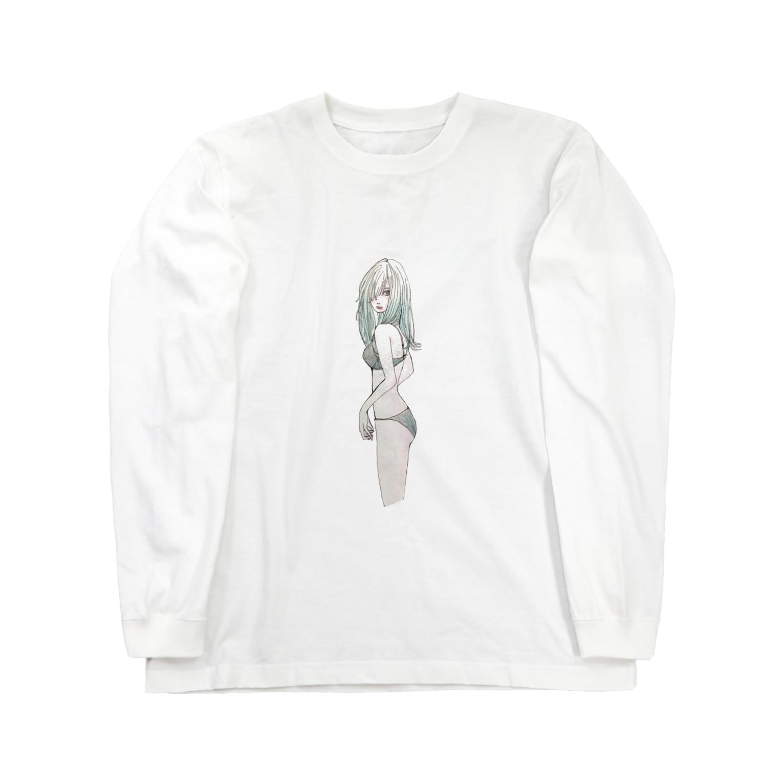 KonKonKirinのko Long sleeve T-shirts