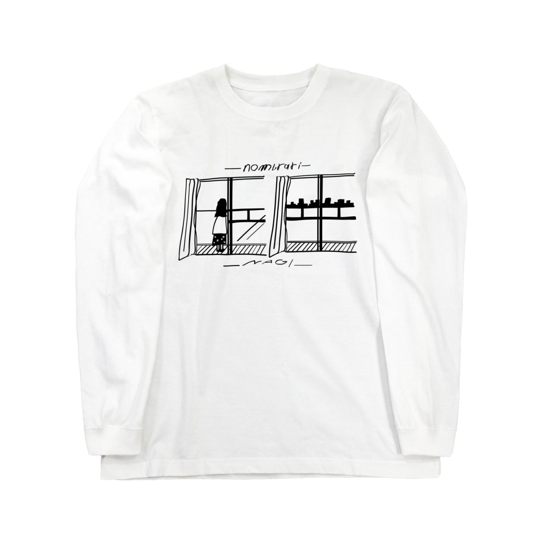 NOMBRARI STOREの凪 Long sleeve T-shirts