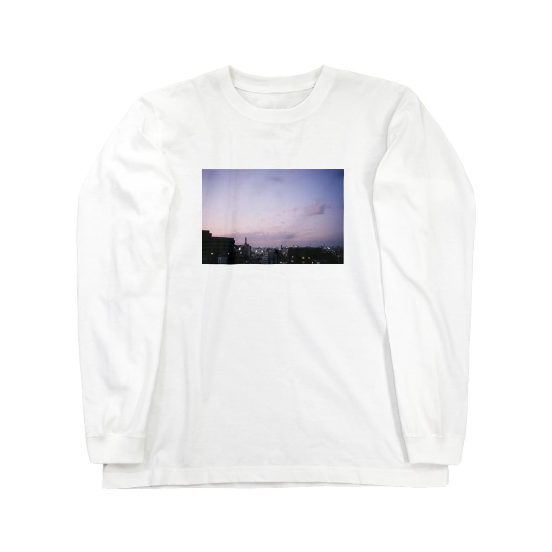 landscape_mkのlandscape 02 Long sleeve T-shirts