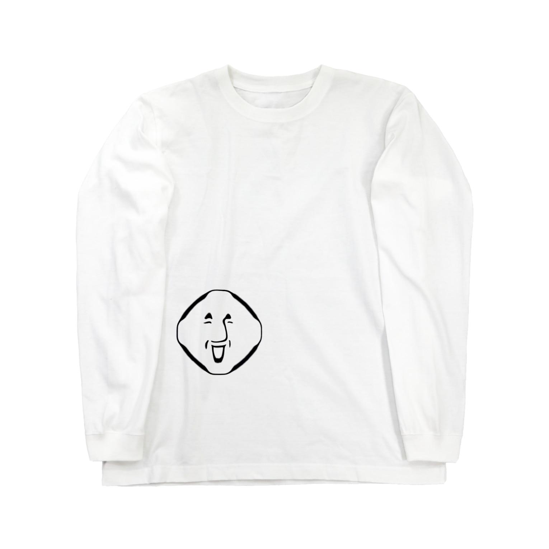 まっちゃんのブタ屋のへんぽこ Long sleeve T-shirts