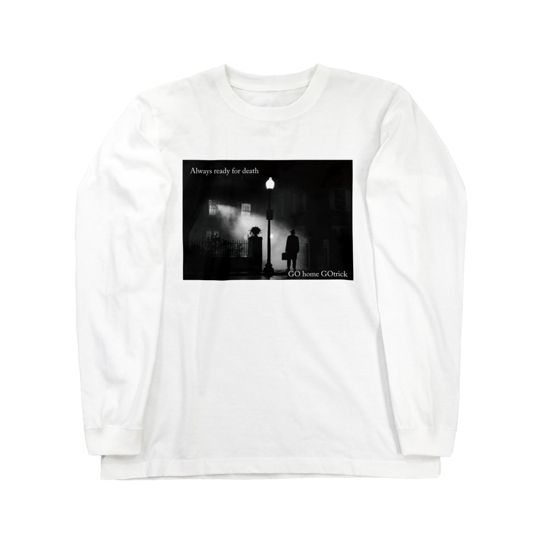 Horror_Holic_School_Official_ShopのKAKUGO Gotrick ver. Long sleeve T-shirts