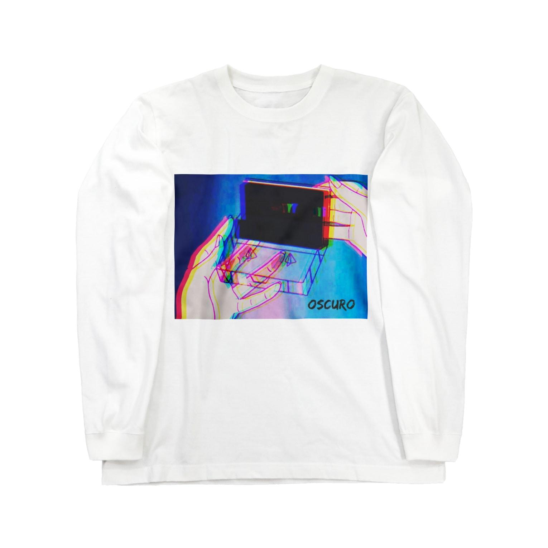 OSCUROのCassette tape Long sleeve T-shirts