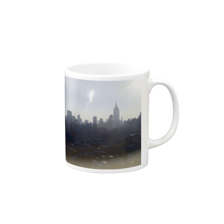 monotonic storeのskyscraper in NY Mugs