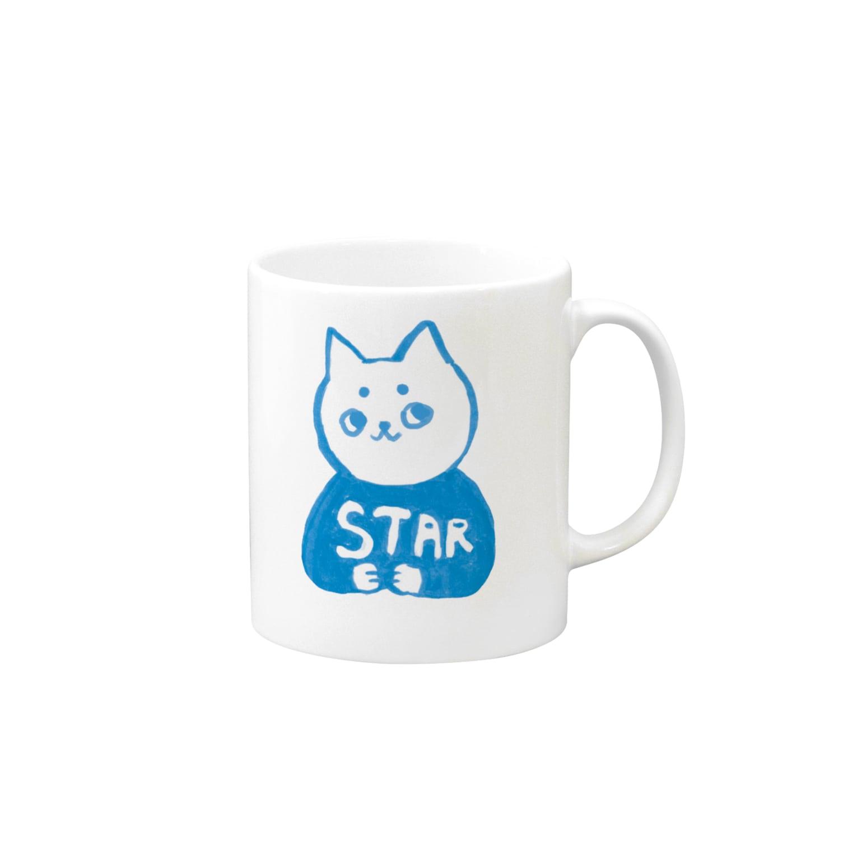 vagの麻呂眉川さん「STAR」 Mugs