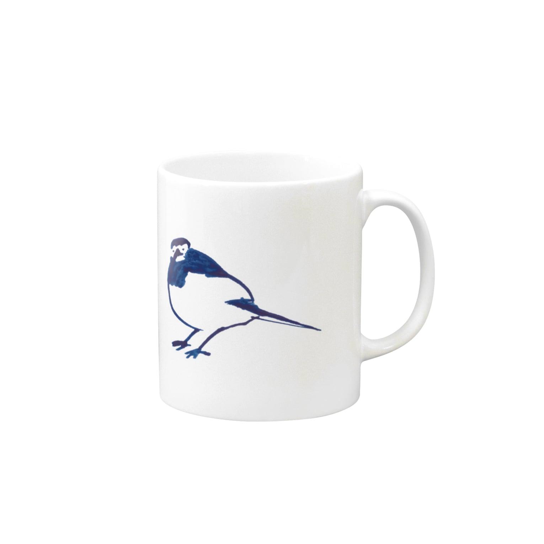 TORISUKIの身近な野鳥「セグロセキレイ」 Mugs