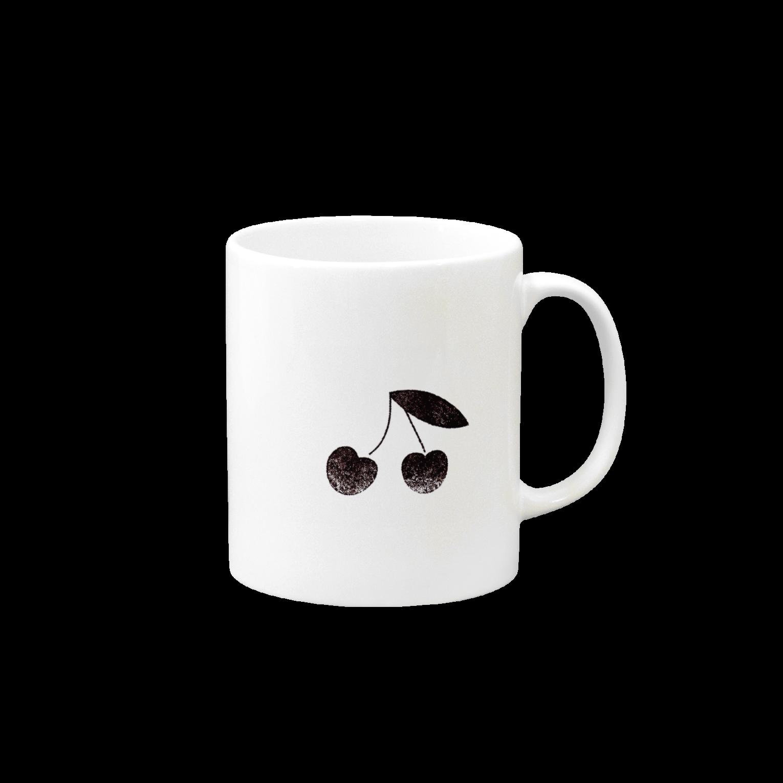 PAPER  HEKISUIのさくらんぼマグカップ