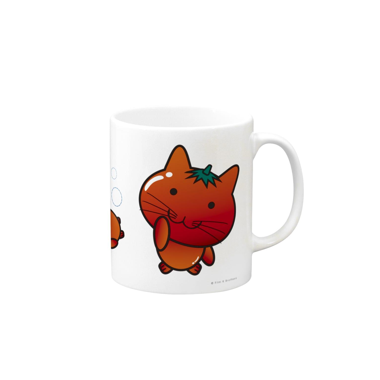 Ally's GoodsのAlly's TOMATO CAT マグカップ