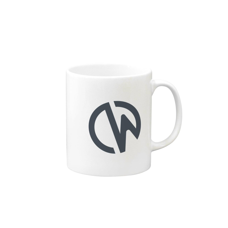 Crowi Fun ShopのCrowi Logo マグカップ