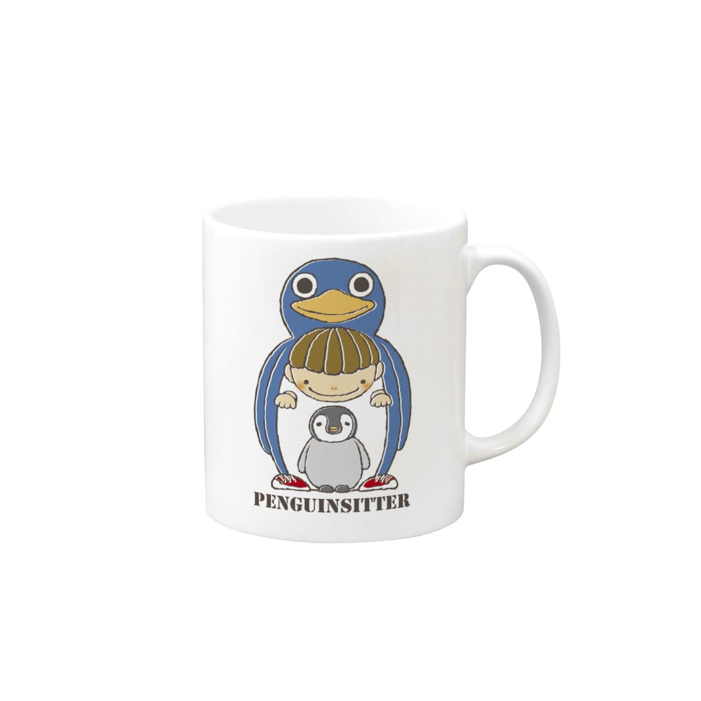 チョッちゃんのペンギンシッター マグカップ