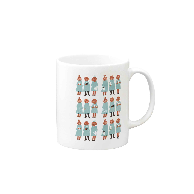 佳矢乃のBoys&Girls マグカップ