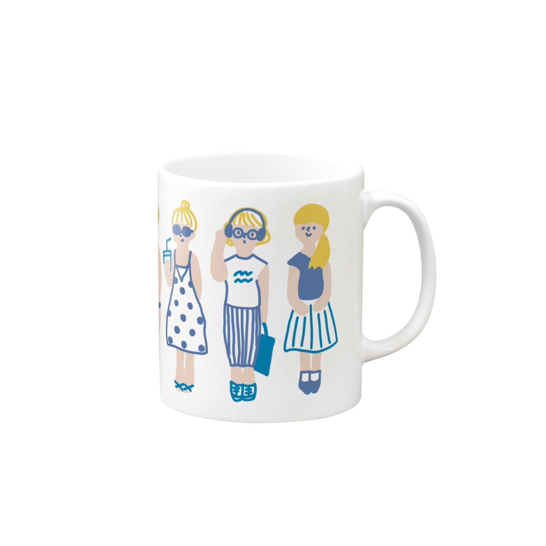 morieebooksの夏ガールズ Mugs