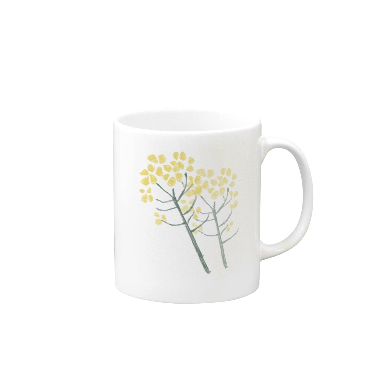 はるはらのお店の菜の花 Mugs