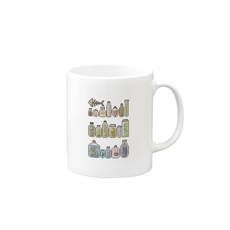 Tenの瓶詰め ドット Mugs