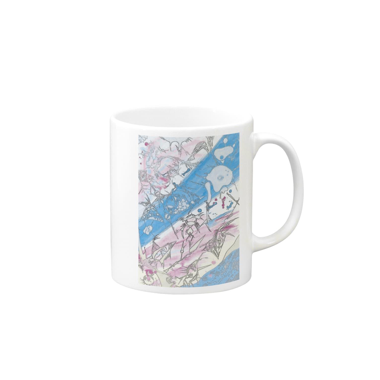 kokoperiの『空色』 Mugs