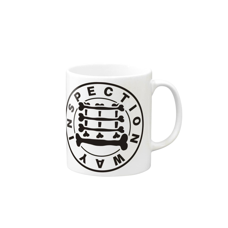Design Storeの検査路(骨構造) Mugs