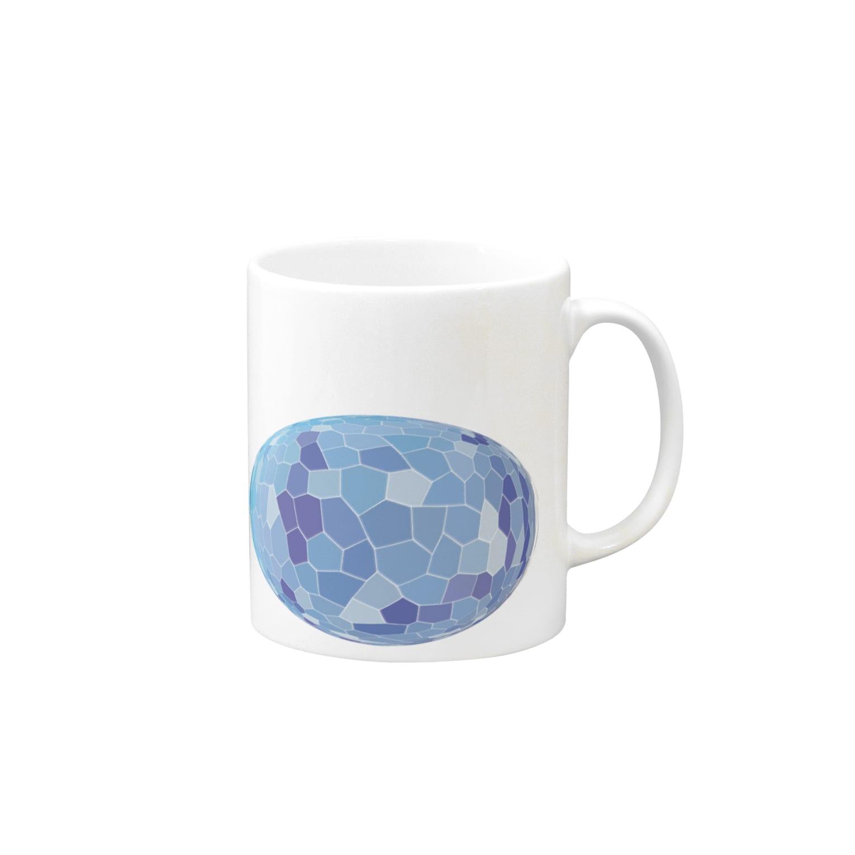 水草のブルー玉 Mugs