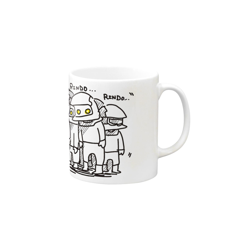 ぷいぷいショップのRINDO... Mugs