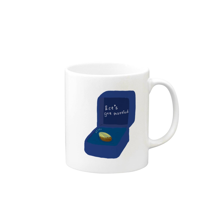 キカガクポップのピスタチオ指輪 Mugs