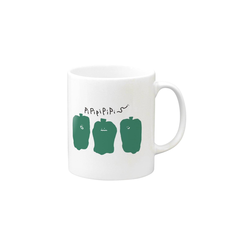 いぬぴぴのPi-man Mugs