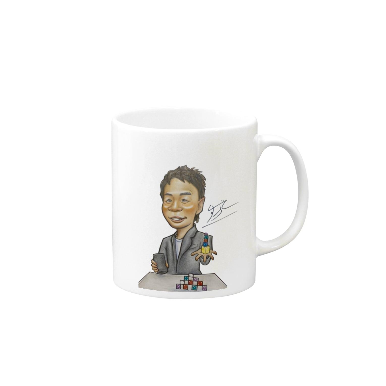 performer_sugorokuの大道芸人すごろくオリジナルマグカップ Mugs