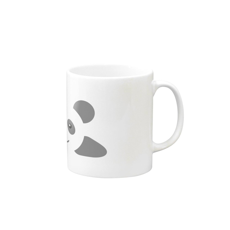 koara031の寝転びパンダ Mugs