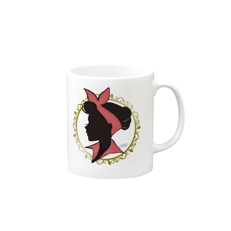 enu. のDreamgirl Mugs