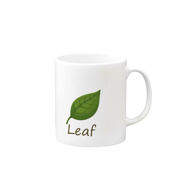 キタムラホタルの葉っぱ Mugs