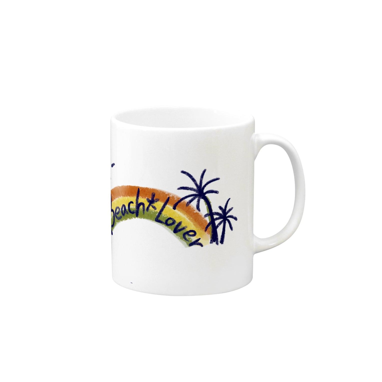 Comitan のBeach lover Mugs