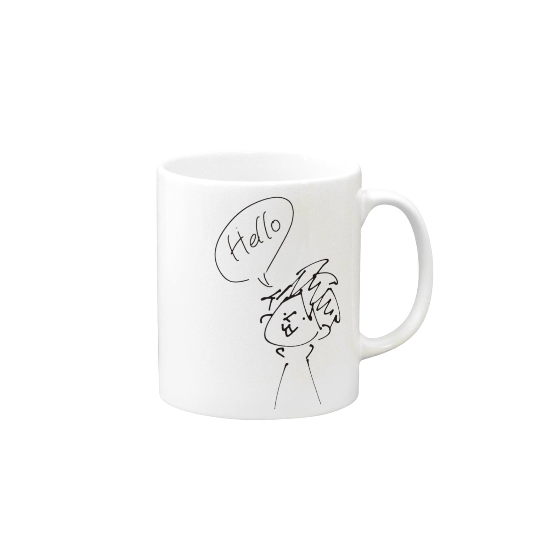 tugumiのハローハローハロー Mugs