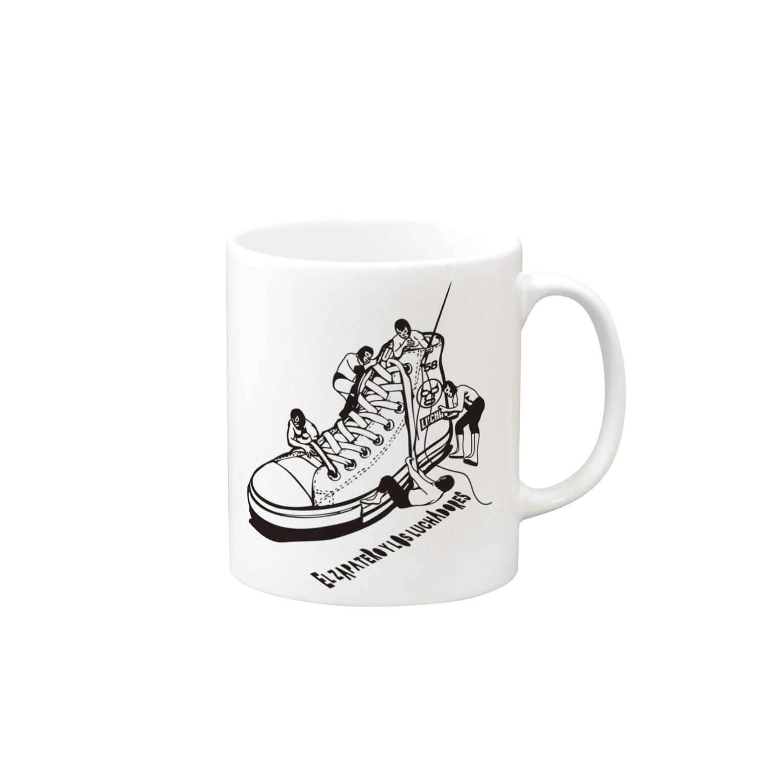 LUCHAのLUCHAの靴屋 Mugs