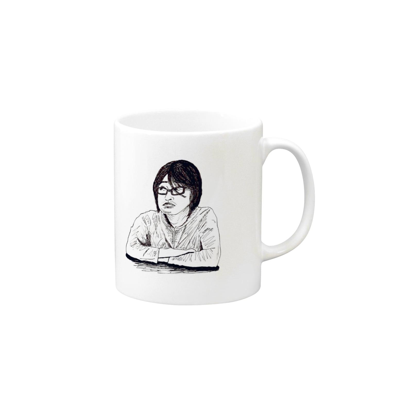 record mizukoshiのharakami Mugs