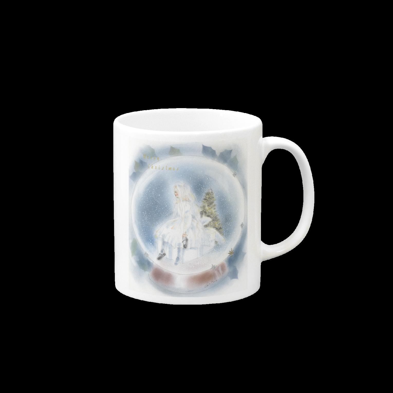 スノークリスマス マグカップ