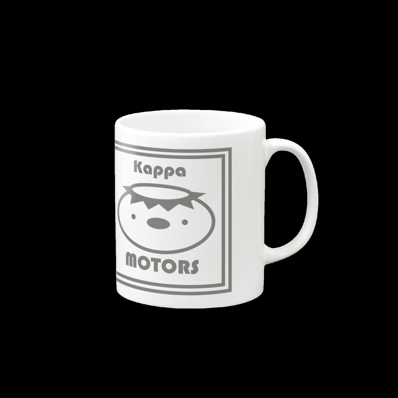 Kappa_MOTORS(スクエア) マグカップ