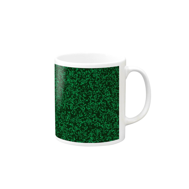 レオナのGame of Life(Black&Green)_01 Mugs