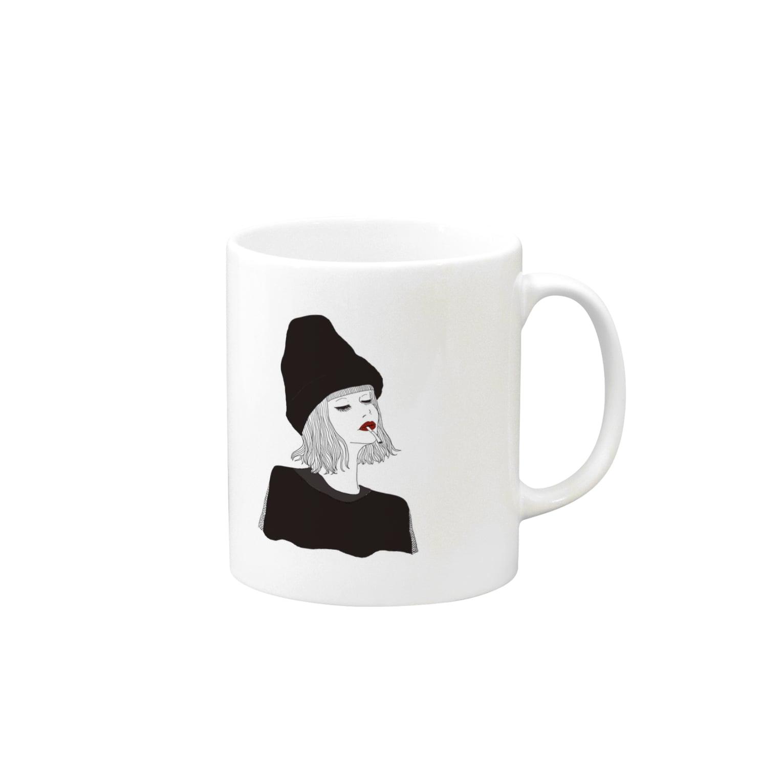 yasunaのbreak Mugs