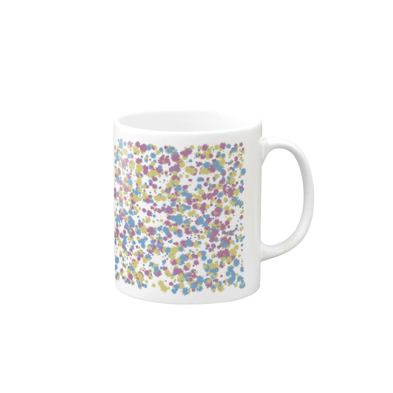 レオナのRandom Paint02(White) Mugs
