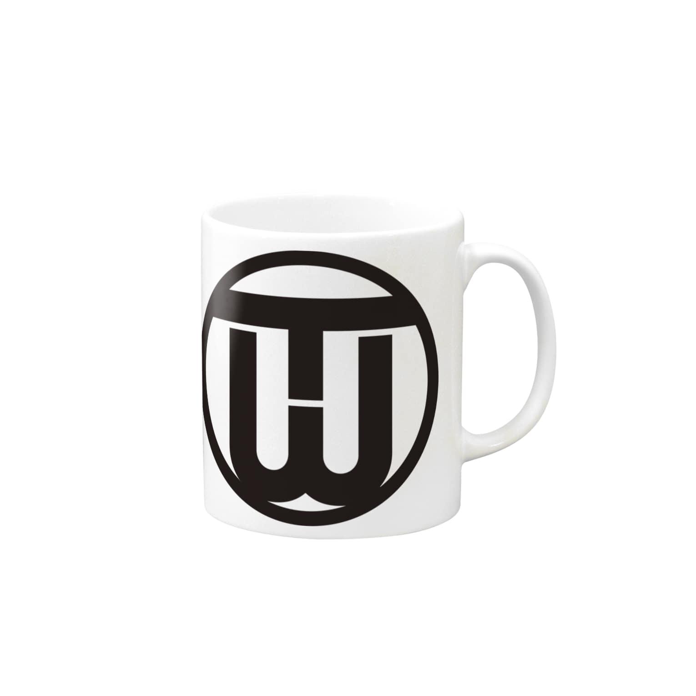 Circle WANTANのワンタンの装備品 マグカップ