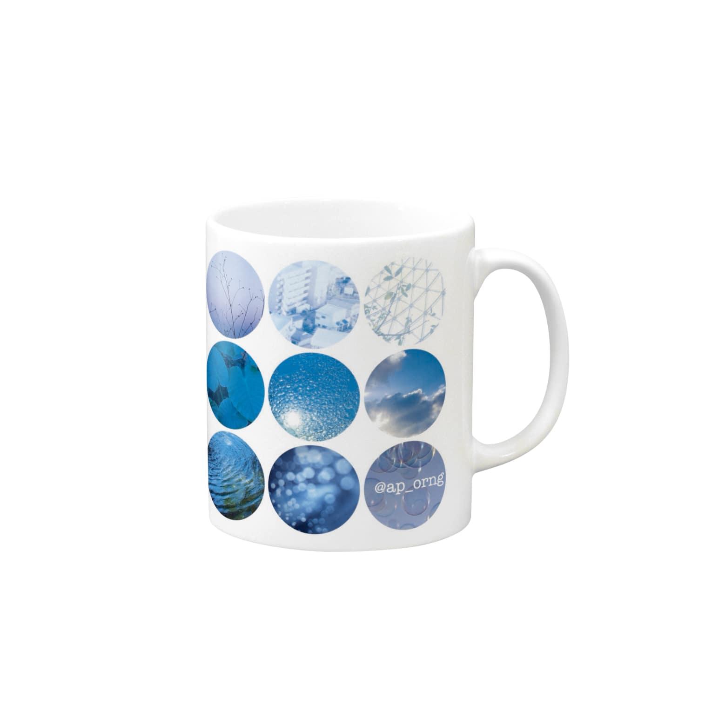 みかんズshopのみかんブルー Mugs