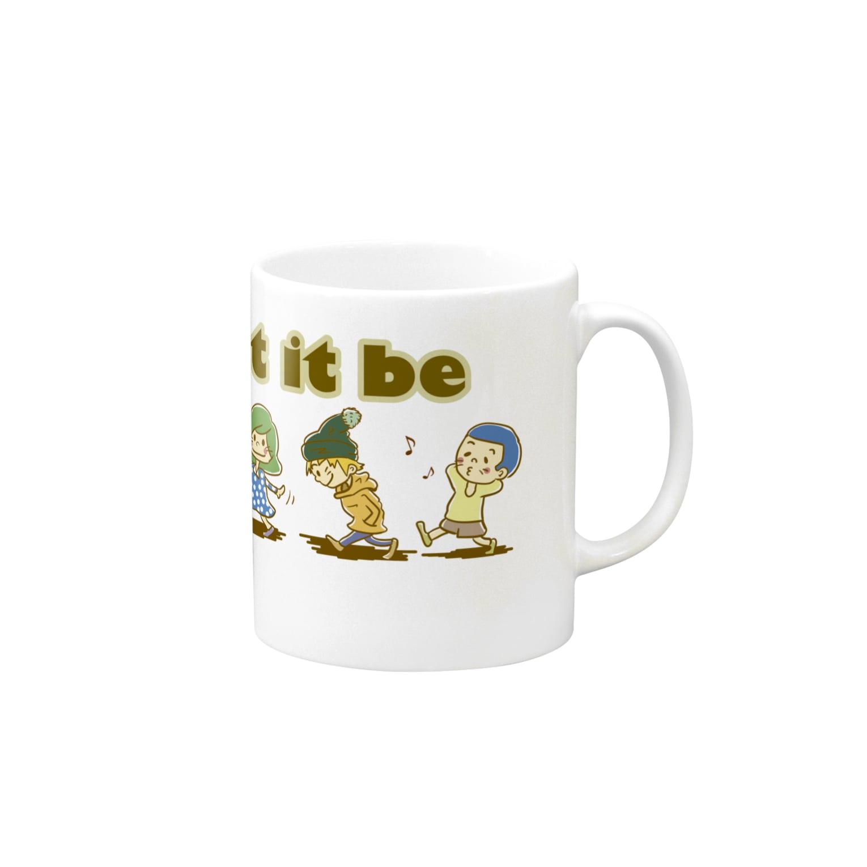 武器屋ネコヒゲ(グッズ)のLet It Be〜なるようになるさ〜 Mugs