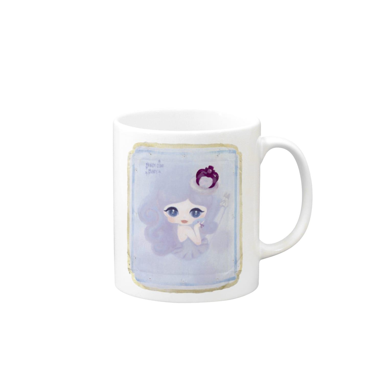 ShikaniwaSandyJidoS.AliceO.S.のviolet マグカップ