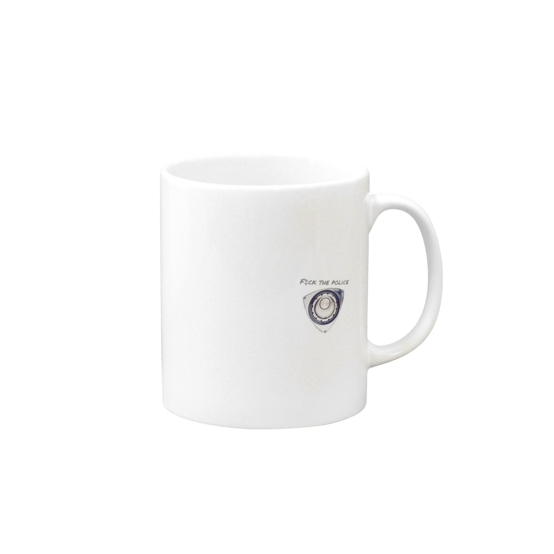 F‡ck the PoliceのRotary legend Mugs
