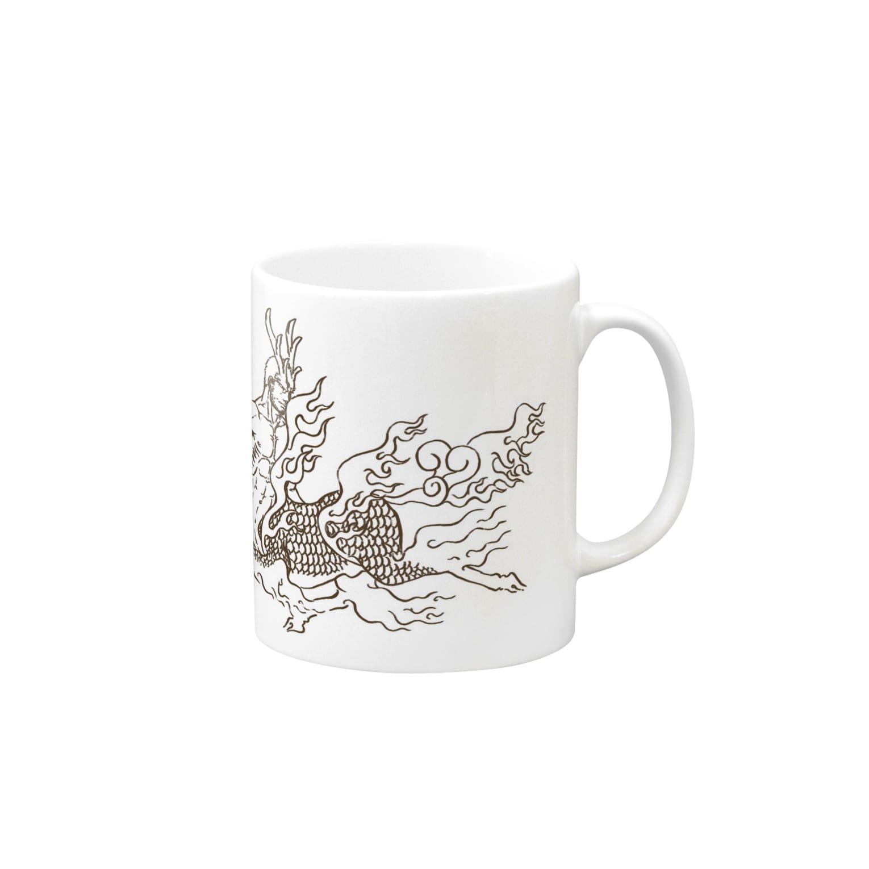 松の木 壱本のケンタウロス:聳弧(単色) Mugs