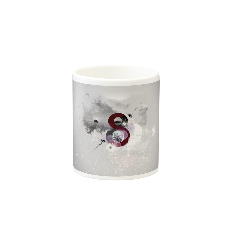 Hugki!!の【Spilit 8】 Mugsの取っ手の反対面