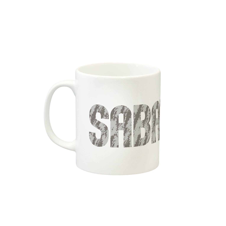 SHOP W SUZURI店のSABATORA マグカップ Mugs