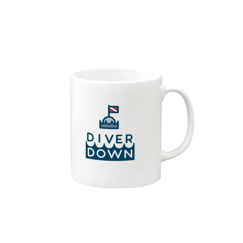 Diver Down公式ショップのDiver Downグッズ マグカップ