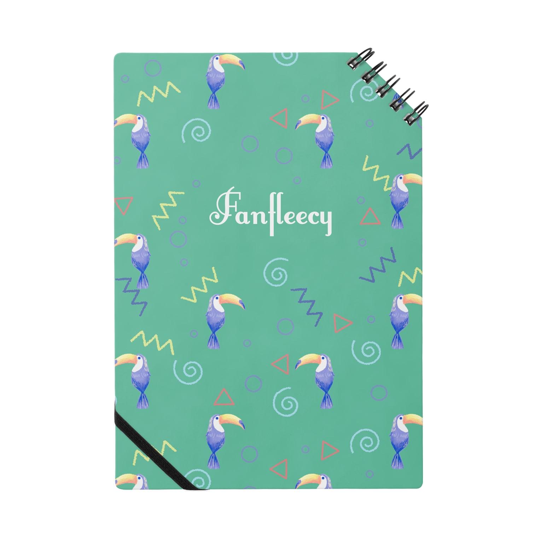 Fanfleecyのトロピカルバード(green) Notes